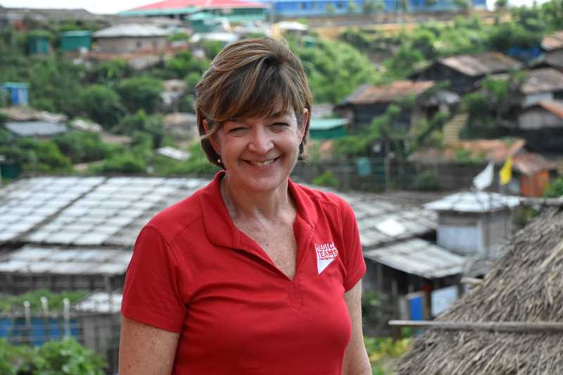 COURTESY PHOTO: MEDICAL TEAMS INTERNATIONAL - Martha Newsome is Medical Teams International CEO and president. The organization is headquartered in Tigard.
