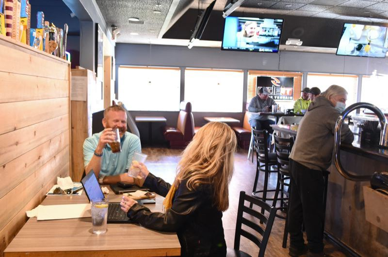 PMG FILE PHOTO - Indoor dining will be restricted again on Friday in Multnonah and Clackamas counties.