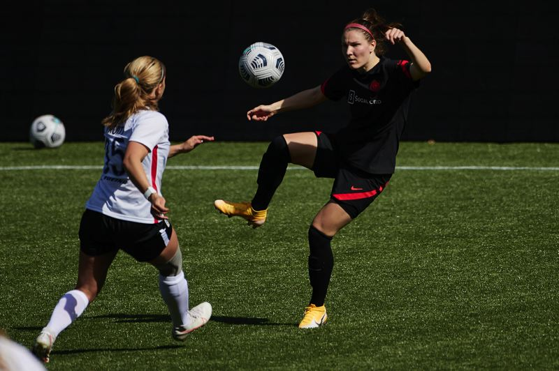 COURTESY PHOTO: CRAIG MITCHELLDYER/PORTLAND THORNS FC - Natalia Kuikka, a defender/midfielder new to the Thorns, brings a winning history and a competitive spirit to Portland that fans will appreciate.