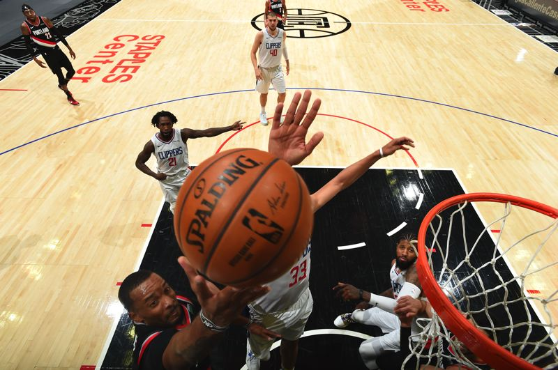 COURTESY PHOTO: TRAIL BLAZERS - Norman Powell scored 32 points against the Los Angeles Clippers, but the Trail Blazers lost 133-116.