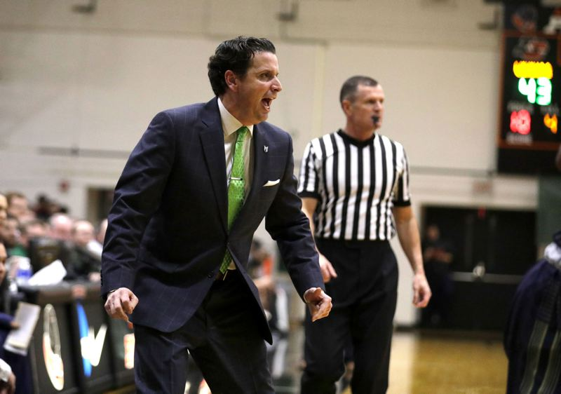 PMG FILE PHOTO: JONATHAN HOUSE - After four seasons as Portland State men's basketball coach, Barret Peery is leaving to become associate head coach at Texas Tech.