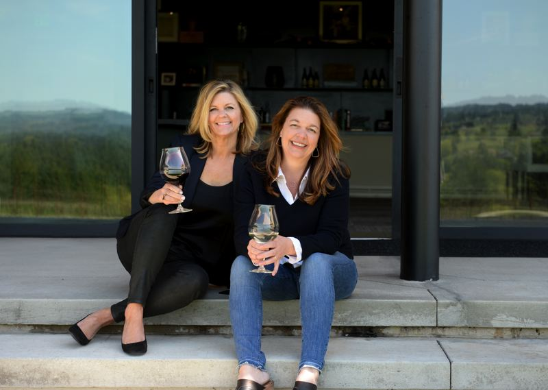 PHOTO: CAROLYN WELLS KRAMER - Anna Maria Ponzi (L) and Luisa Ponzi will stay at Ponzi but a new CEO will be brought in by parent company SBJ and the Bollinger company.