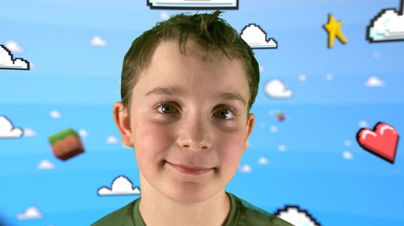 COURTESY PHOTO - Braedan McGloghlon's Youtube channel, Braedan Plays, features videos focused on video games.