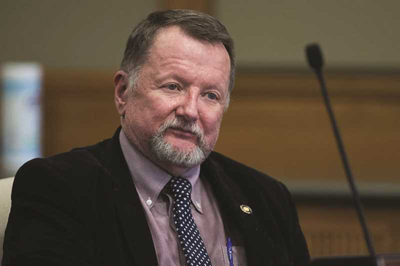FILE PHOTO - Oregon Senate Minority Leader Fred Girod is the subject of a recall effort spurred on by a Molalla woman.