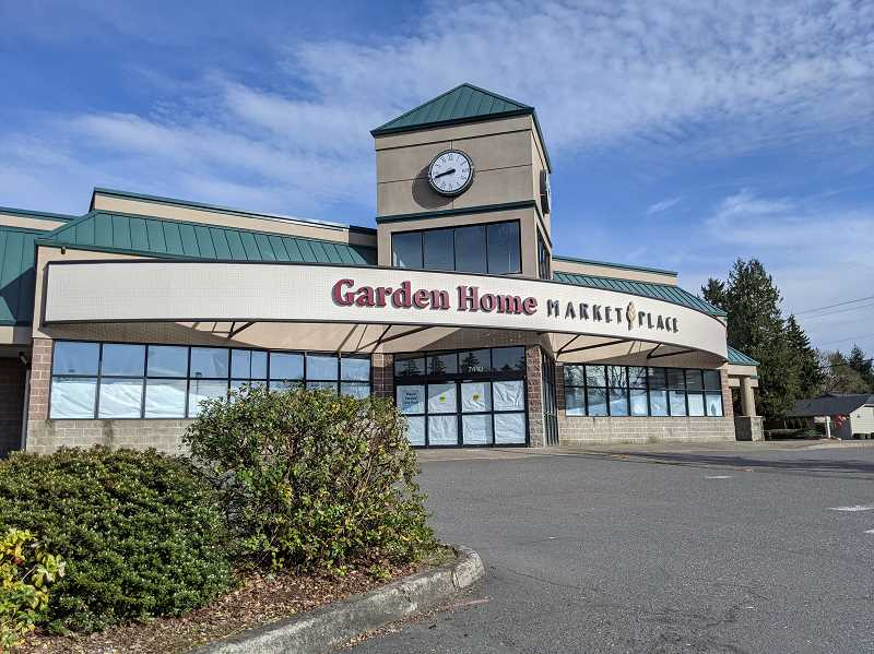 PMG PHOTO: COURTNEY VAUGHN - A new Trader Joe's grocery story is slated to occupy the Garden Home Market Place plaza in Southwest Portland. The plaza used to house a Thriftway store.