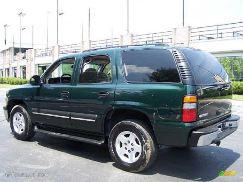 COURTESY PHOTO: CANBY POLICE - Canby Police said the vehicle involved in the theft is similar to this image of a green Chevrolet Tahoe.