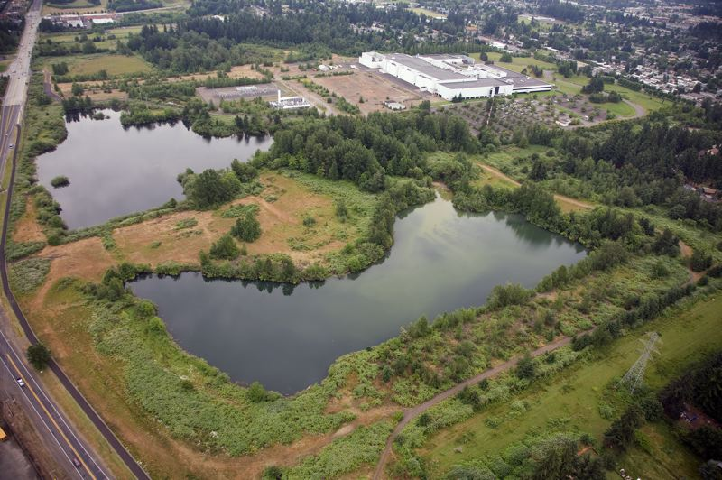 COURTESY PHOTO: CITY OF GRESHAM - A project at Fujitsu Ponds is one of the 10 proposed uses for the $5.4 million in Metro bond funds. The city of Gresham has opened a survey for residents to rank the 10 projects in importance.