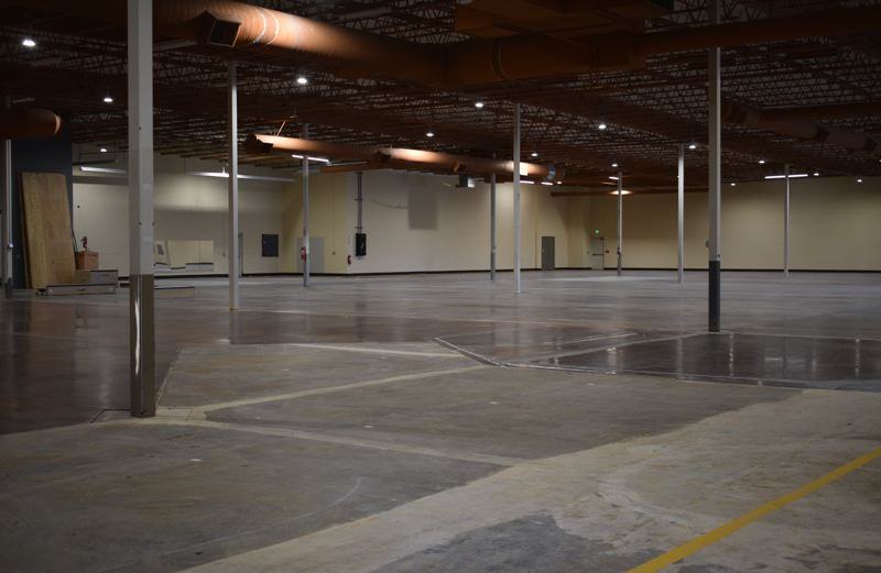 PMG PHOTO: TERESA CARSON - Easons 36,000 square foot sound stage space could easily hold two or three large television or movie sets.