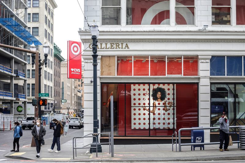 PMG: JON HOUSE - Galleria will be home to SERA Architects in early 2022 as the Target City store shrinks to ground floor only. SERA is moving from the bus mall in Old Town and will oversee the $20 million remodel of the former shopping mall.