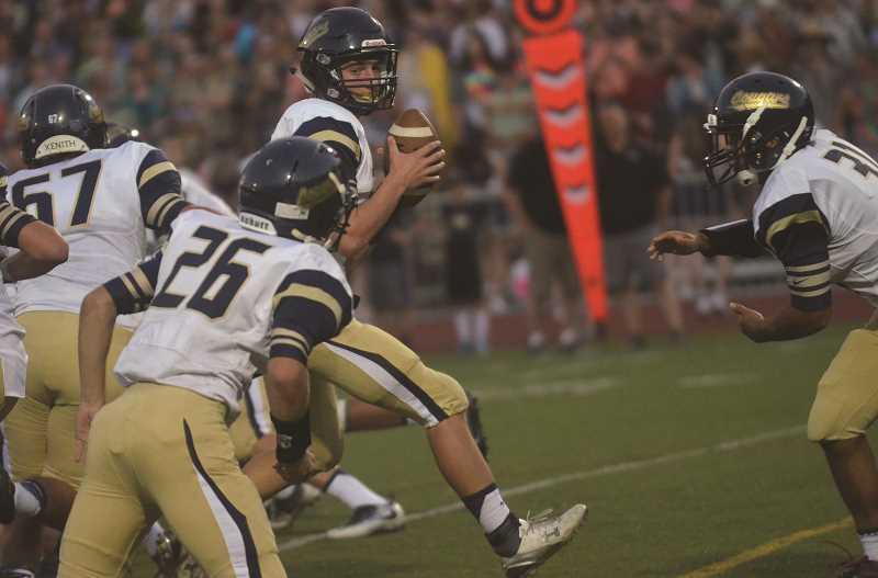 FILE PHOTO - The Canby High football team dropped a 20-14 decision to Crater Friday night.