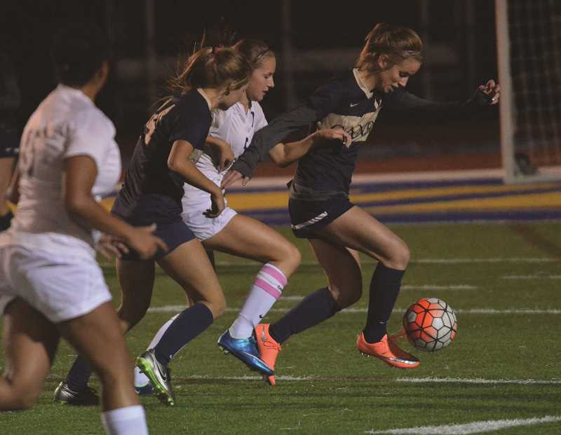 FILE PHOTO - The Canby High girls soccer team finished its season with a pair of hard-fought non-league matches.