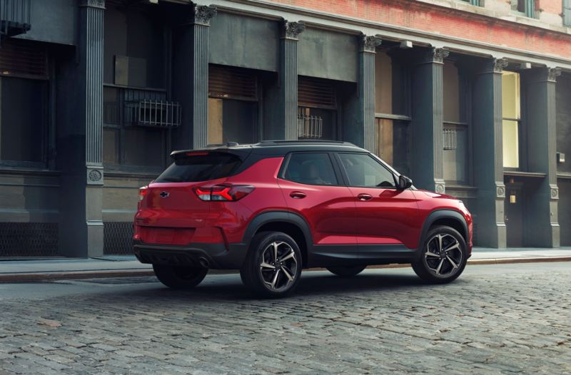 COURTESY CHEVY - Though mechanically similar to the Buick Encoure GX, the 2021 Chevy Trailblazer has design elements that sets it apart.