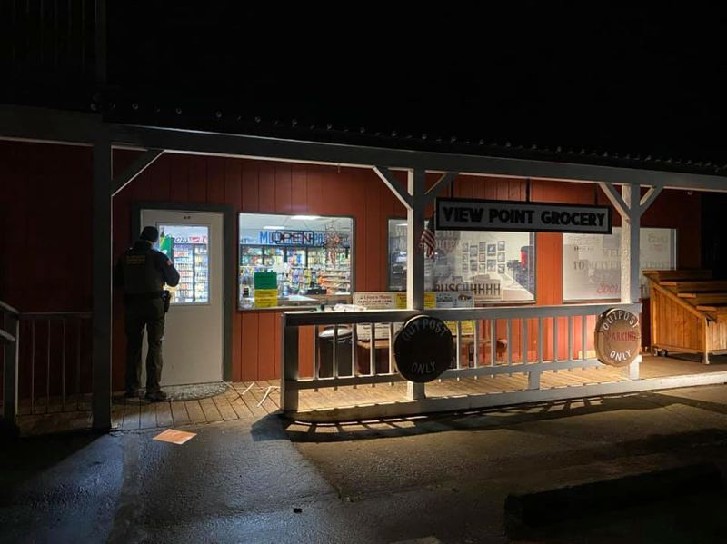 Sheriff's office investigates burglary at Viewpoint Grocery Store