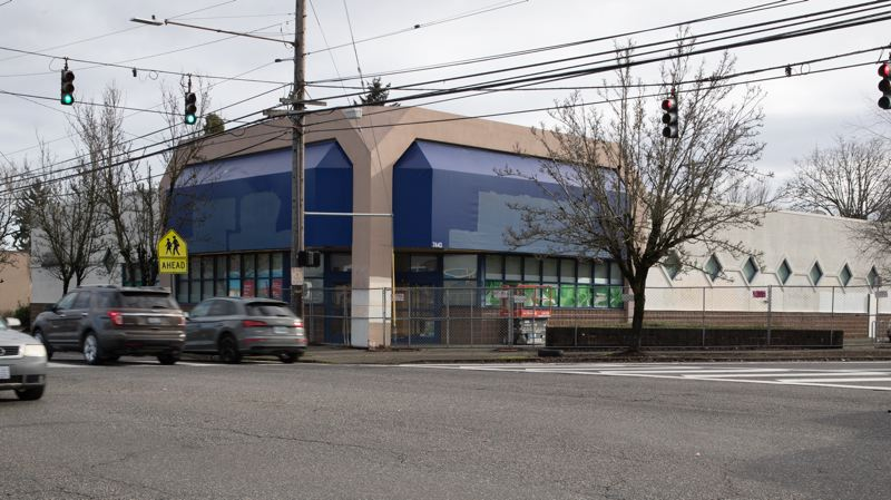 MULTNOMAH COUNTY PHOTO: MOTOYA NAKAMURA - North Portland will host its first full-service homeless shelter at a converted Rite Aid on North Lombard Street, the dividing line between the Arbor Lodge and Kenton neighborhoods.