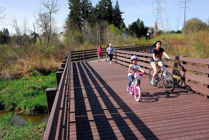 THPRD hopes to secure funds to complete trail segments project