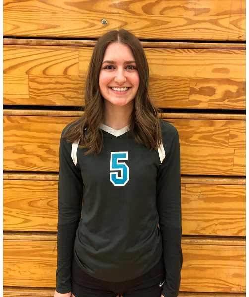 COURTESY PHOTO - Century setter Brooke Johnson was a key contributor for the Jaguars during the 2021 volleyball season.