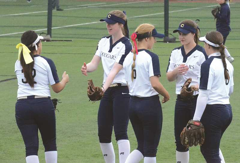 FILE PHOTO - The Canby High softball team got its season off to a good start with a 13-3 win over Beaverton on Monday.