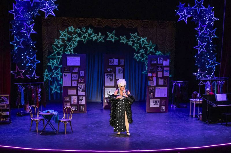 COURTESY PHOTO: DON HORN/DAVID KINDER/KINDERPICS - Don Horn's 'Darcelle: That's No Lady,' a play about Walter Cole/Darcelle's life performed in September and October 2019, was part of a history project that earned a state heritage award.