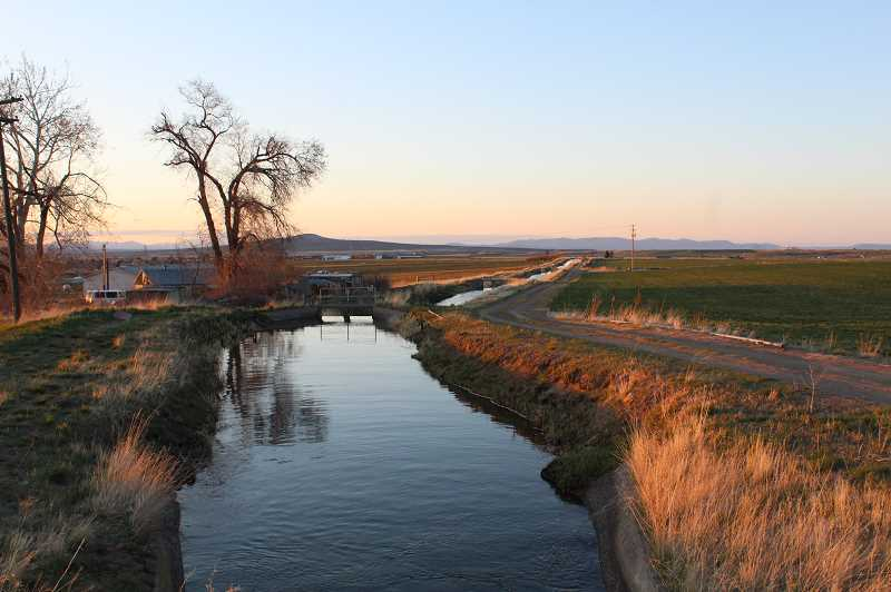 TONY AHERN/MADRAS PIONEER  - Irrigation season began earlier this month with water filling the canals. With low water expected in 2021, irrigators are focusing on smarter dispersal systems and water conservation.