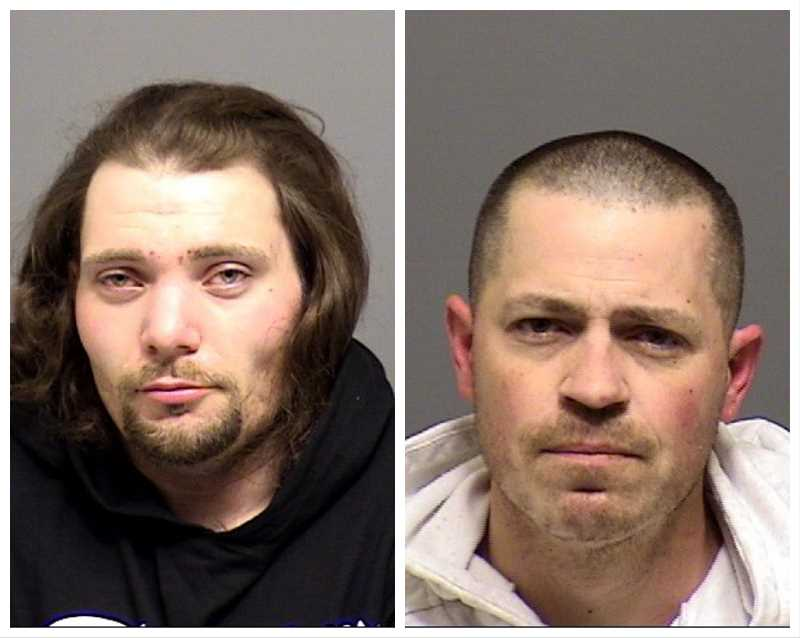 Two arrested in Canby on warrants, theft charges