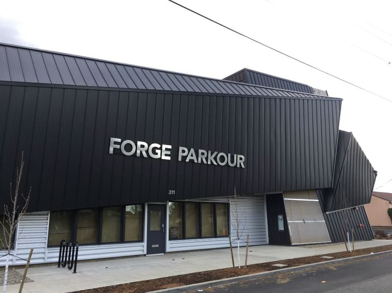 PAMPLIN MEDIA GROUP: JOSEPH GALLIVAN - Parkour gym Forge Parkour as it was when it opened in 2017.