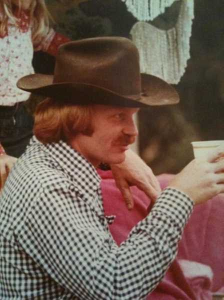SUBMITTED PHOTO: CAROLE SKEETERS-STEVENS - Dr. Charles Edward Skeeters was known as a real character and will be remembered for his iconic red hair and cowboy boots.