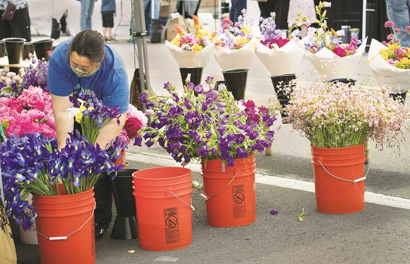 PMG FILE PHOTO - The Chehalem Park and Recreation District will in May begin hosting a Friday market at a park in Dundee.