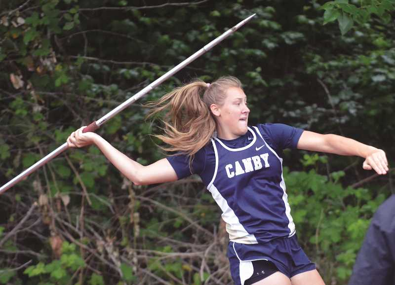 FILE PHOTO - The Canby High track season has begun at last in 2021.