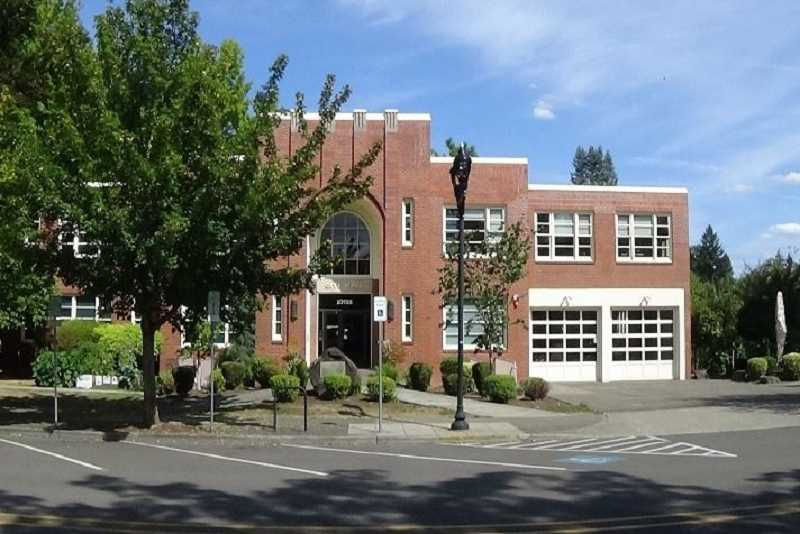 COURTESY PHOTO - Milwaukie City Hall, in its current location at a 1938 building, will be moving north on Main Street to a former Advantis Credit Union headquarters building.
