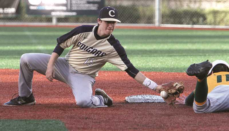 FILE PHOTO - Canby's baseball season got off to a 2-0 start with wins over Roosevelt and West Linn Monday and Wednesday, respectively.