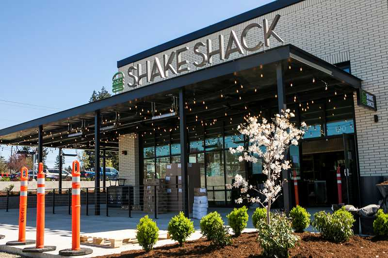 PMG PHOTO: JAIME VALDEZ - Shake Shack opened a new location in Beaverton on Friday, April 16. This is the first restaurant the new New York City based chain has opened in Oregon.