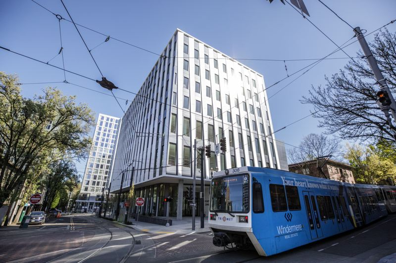 PMG PHOTO: JONATHAN HOUSE - The new Vanport Building, shared by PSU, PCC, OHSU, and the City of Portland, is quietly open downtown. They buil it - will they come?