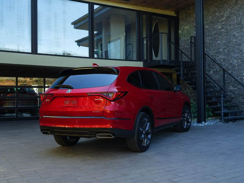 COURTESY: ACURA - Beauty is more than skin deep with the redesigned 2020 Acura MDX, which also boasts more cargo space and can tow up to 5,000 pounds.