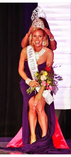 COURTESY PHOTO - Wrenna Monet of Newport was named Petite USA Ambassador at the recent national Ms. Petite pageant.