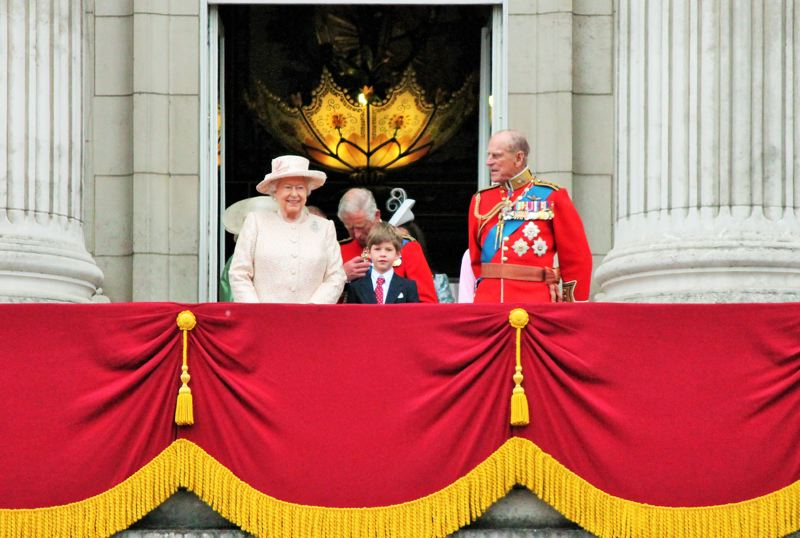 COURTESY PHOTO: DREAMSTIME - Prince Philip, the Duke of Edinburgh, joined Queen Elizabeth II, Prince Charles and family in a 2015 royal appearance.