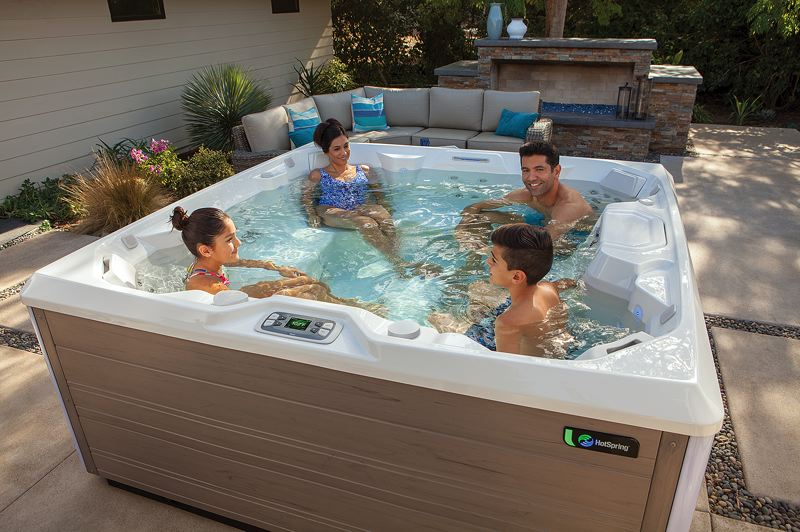COURTESY PHOTO: OREGON HOT TUB - Within 22 minutes of sitting in a hot tub, the cellular level of the body is rebooted and users feel better, look better and have more mental clarity.