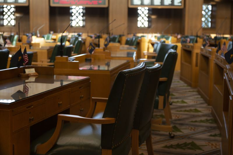 COURTESY PHOTO: DREAMSTIME - The Oregon House canceled floor sessions Tuesdasy, April 20, for the third time because of positive COVID-19 cases.