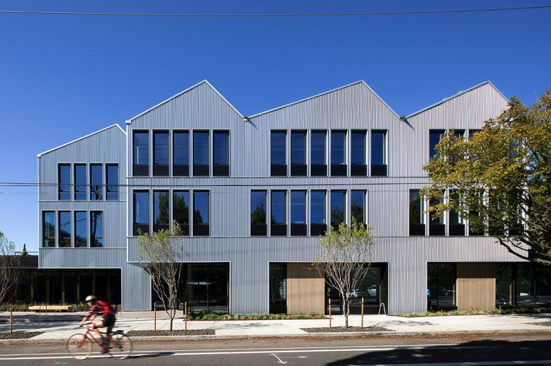 COURTESY: JEREMY BITTERMANN - Chandra Robinson of Lever Architects is one of only two Black female registered architects in Portland and was the designer of the new headquarters for Meyer Memorial Trust.