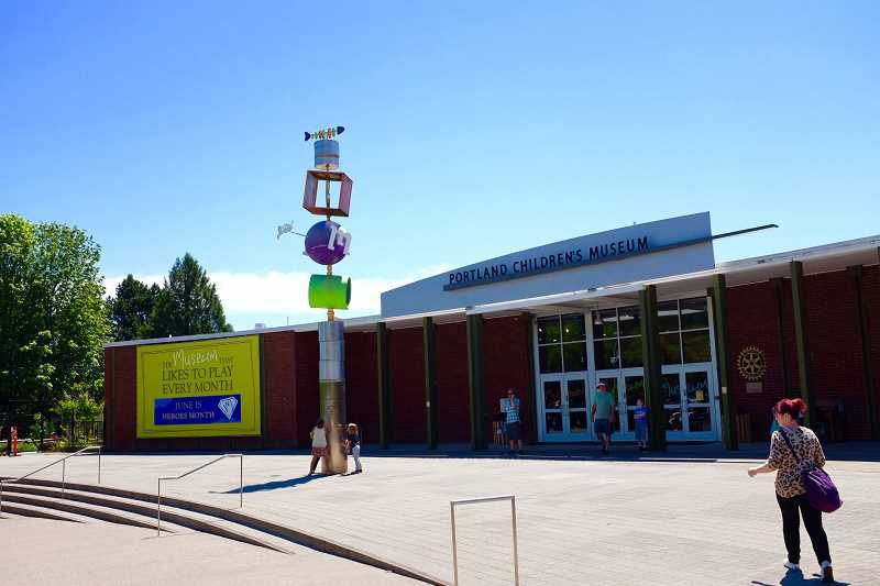 PMG PHOTO: JAIME VALDEZ - The Portland Childrens Museum is slated to be closed permanently.