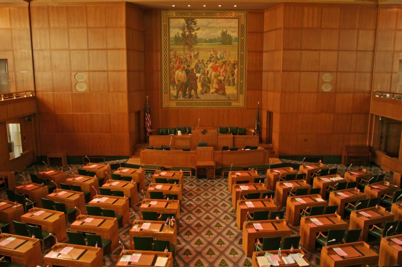 COURTESY PHOTO: DREAMSTIME - A fourth COVID-19 case was reported Thursday, April 22, in the Oregon House. The chamber is already shut down because of other virus cases.