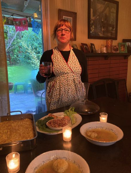 COURTESY PHOTO - Rep. Rachel Prusak celebrated the Jewish holiday Passover earlier this year.