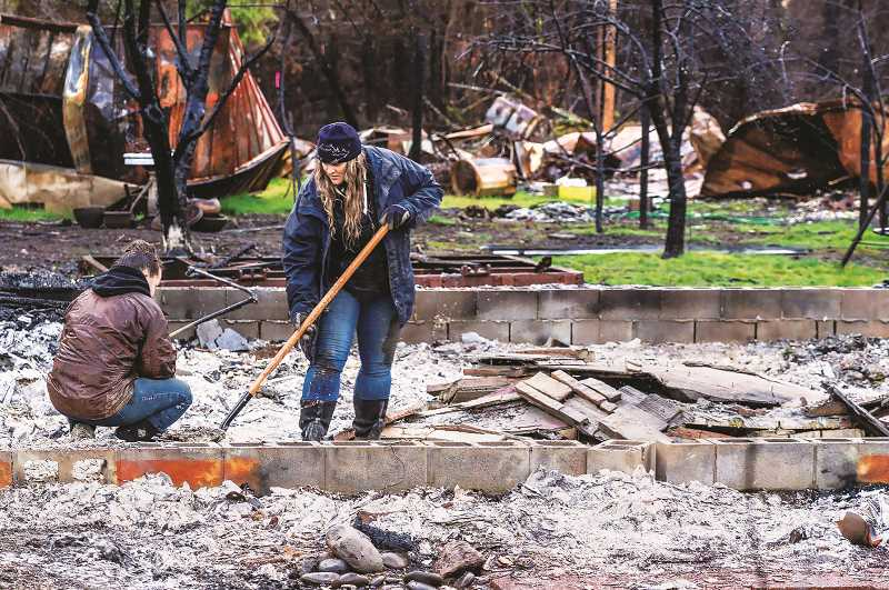 PMG FILE PHOTO - The rate of wildfires in Oregon is four times what the state experienced in the first three months of 2020.