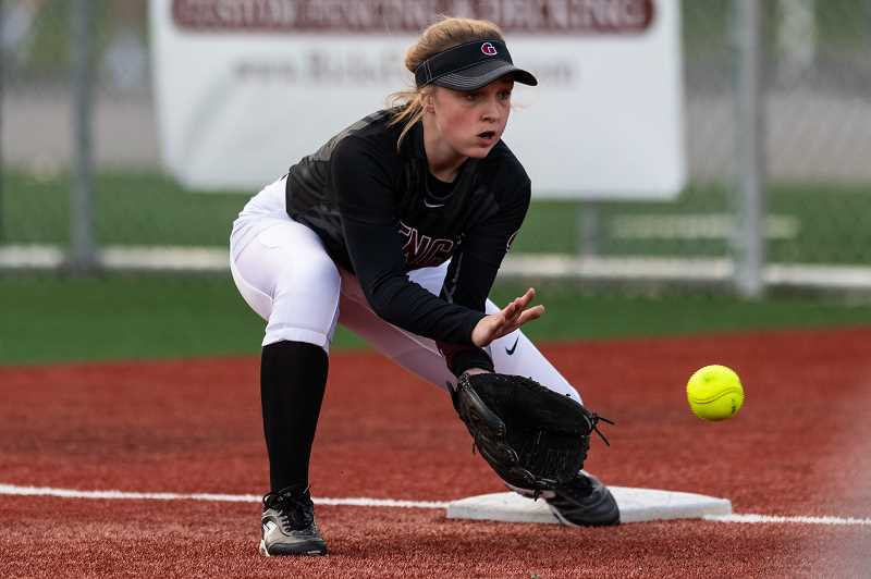 PMG FILE PHOTO - Glencoe shortstop Ellie Ravins is one of a handful of upperclassmen that first-year coach Rob Ray is leaning on for leadership this season.