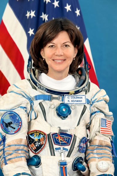 COURTESY PHOTO - Cady Coleman, a former NASA astronaut, will be guest at the Voices Lectures virtual event April 28.