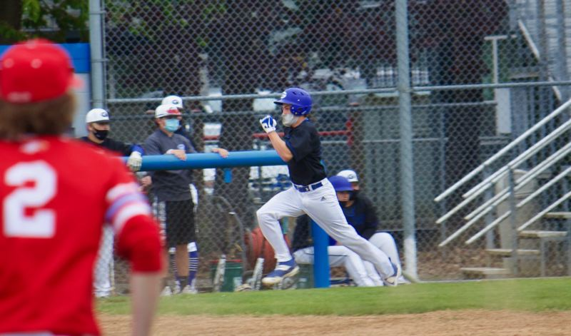 PMG PHOTO: CHRISTOPHER KEIZUR - The Gophers forced a draw and extra innings — at a future date — after late heroics against Centennial.