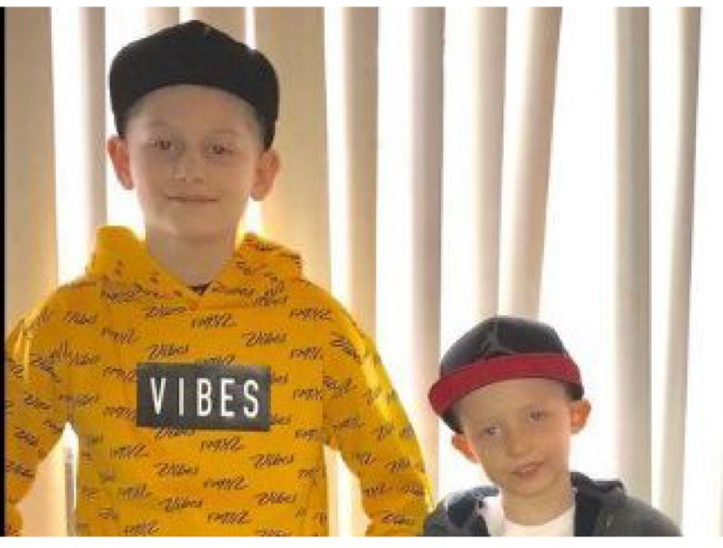 COURTESY PHOTO   - Brothers Skylar and Brayson Davis were last seen at 12:30 a.m. Sunday, April 25, at their home near Southwest 175th Avenue and Shaw Street.