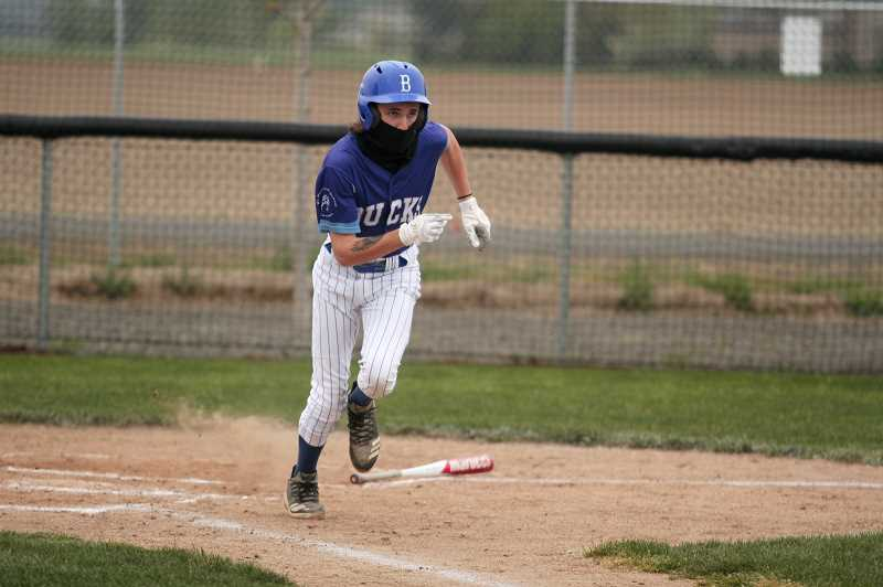 PMG PHOTO: PHIL HAWKINS - Garrett Gleaves is one of three seniors on the St. Paul baseball team, which features just two players with previous varsity experience entering the 2021 season.