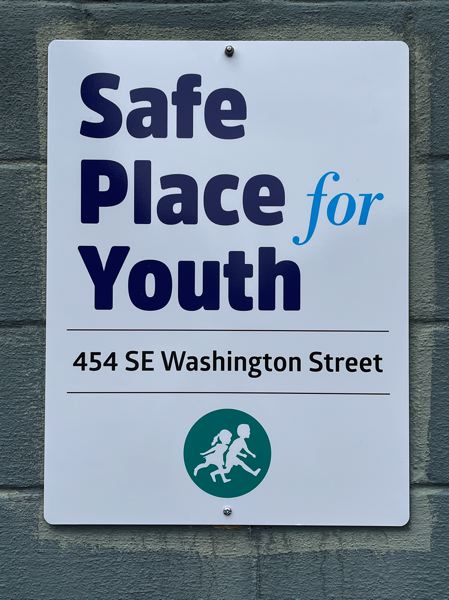 COURTESY PHOTO: SAFE PLACE FOR YOUTH - Students with the Hillsboro Youth Advisory Council are fundraising for the Safe Place for Youth shelter.