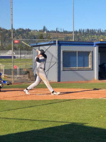 COURTESY PHOTO - Southridge junior pitcher and first baseman Jacob Dodge hopes to play at the University of Oregon. However, Dodge is also hoping to be a leader on his team while hes still in high school.
