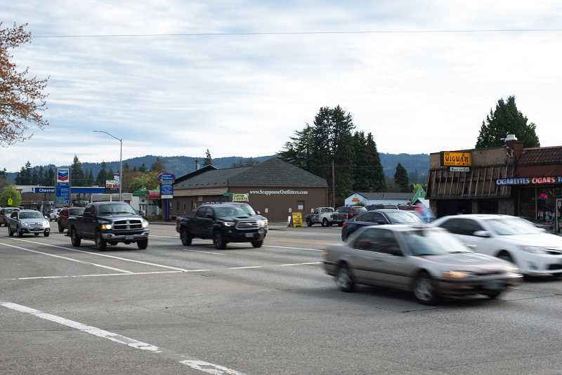 PMG FILE PHOTO - The proposed alternate route through Scappoose would ease congestion on Highway 30 through the city.